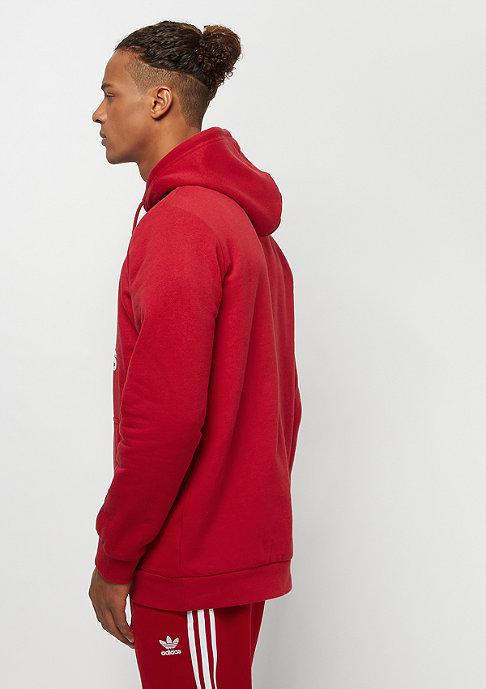 adidas Trefoil Hoodie power red