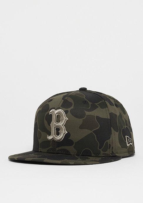 New Era 59Fifty MLB Boston Red Sox Camo midnight camo/black