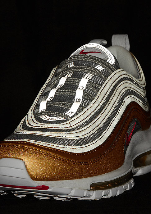 NIKE Air Max 97 SSL metallic gold/university red