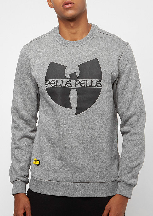 Pelle Pelle Batlogo Mix heather grey