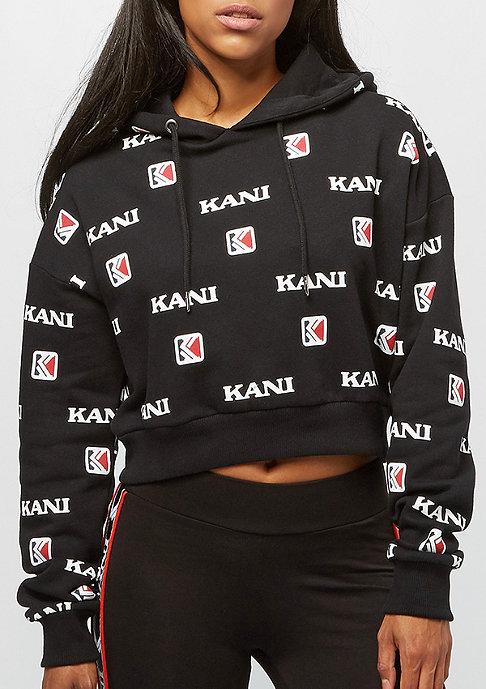 Karl Kani OG AOP Hoodie black/white
