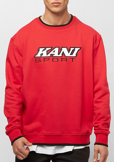 Karl Kani Sport Crew red black white