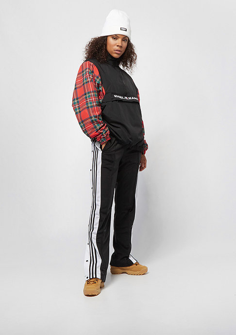 Karl Kani Check Windbreaker black red green