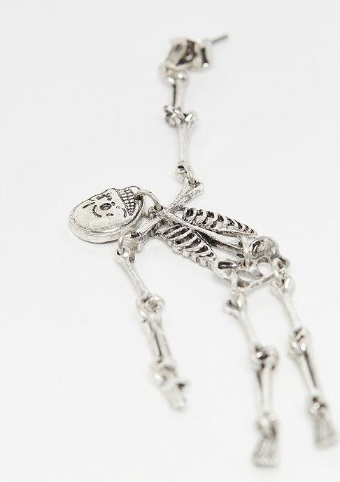 Cheap Monday Skull Earings silver