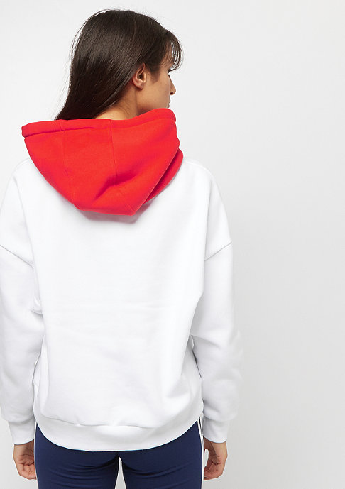 Karl Kani KK Retro Hoodie white red