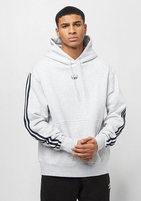 adidas FT BBall Hoody light grey heather/collegiate navy