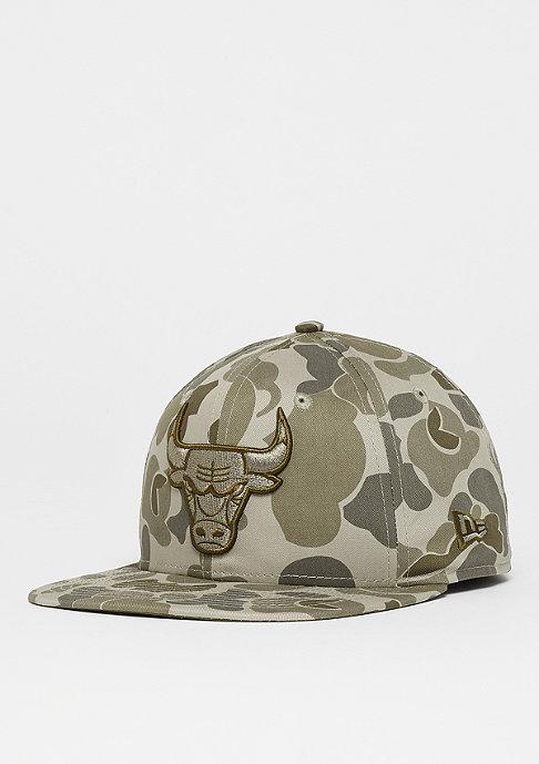 New Era 9FIFTY NBA Chicago Bulls Camo steel clouds/black