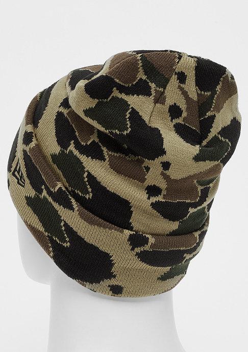 New Era NBA Chicago Bulls Cuff Knit  desert camo/black