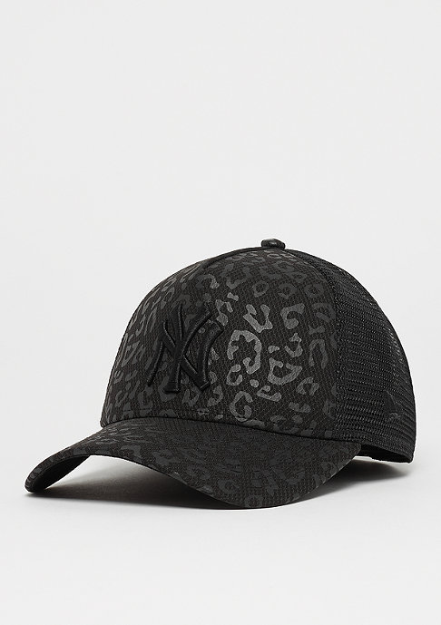 New Era A-Frame Trucker MLB New York Yankees Leopard black/black