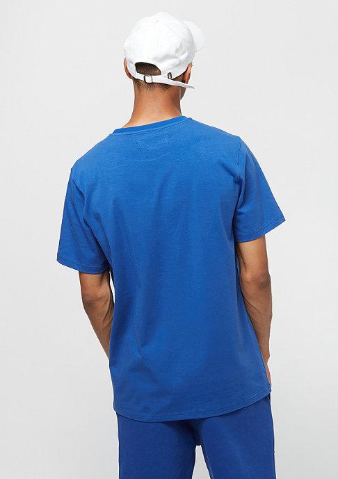 Black Pyramid Letters SS Shirt blue