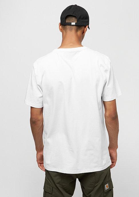 Black Pyramid Letters SS Shirt white
