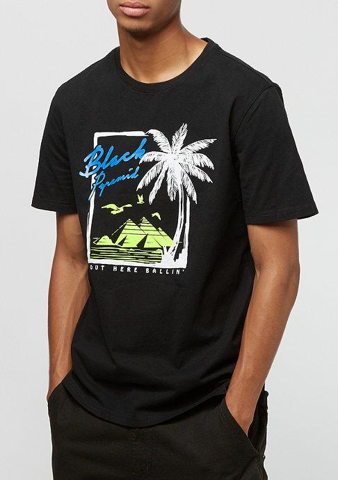Black Pyramid Palm Pyramid black