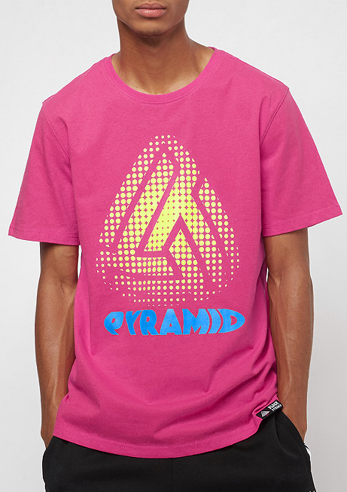 Black Pyramid Pixel Pyramid pink
