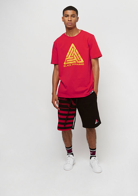 Black Pyramid Pyramid red