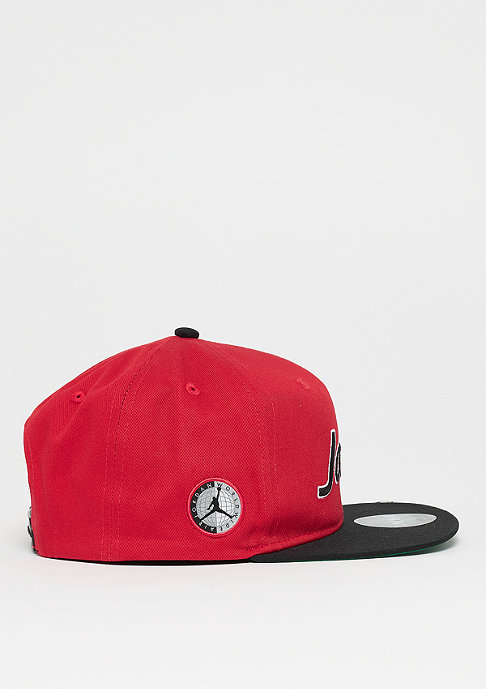 JORDAN Pro Script Cap gym red/black/pine green