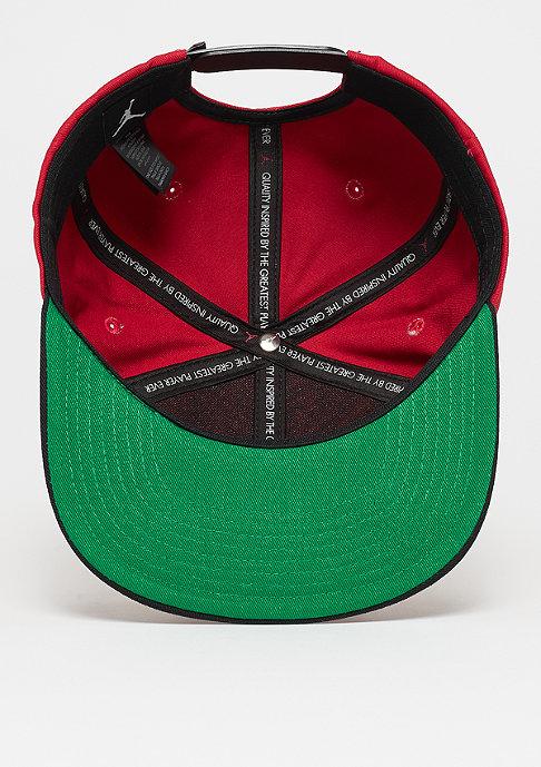 JORDAN Pro Script Cap gym red/black/pine green