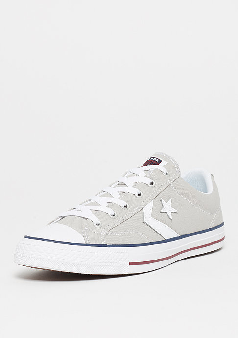 Converse Star Player Ox cloud grey/white