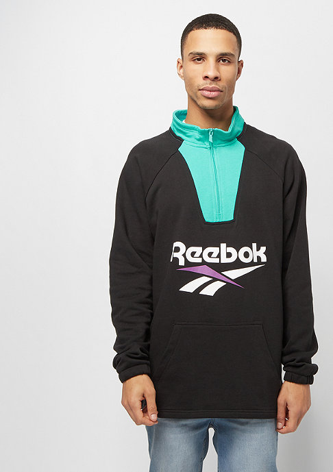 Reebok CL V 1/4 Zip black