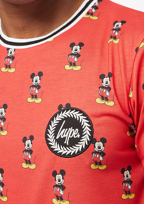 Hype Mickey AOP red