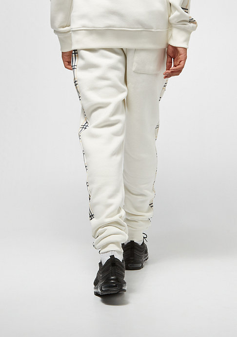 Criminal Damage CD Jogger Check off white/multi