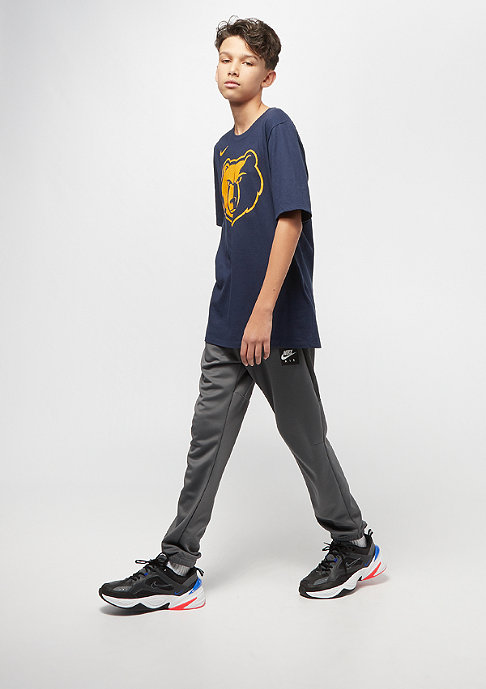 NIKE Junior NBA CE Memphis Grizzlies Dry ES SS college navy