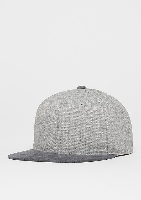 Flexfit Melange Velour Snap grey/grey