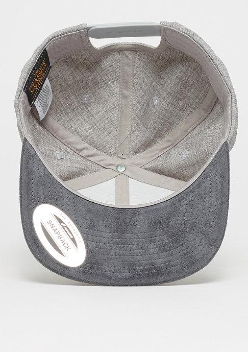 Flexfit Melange Velour Snap grey/grey