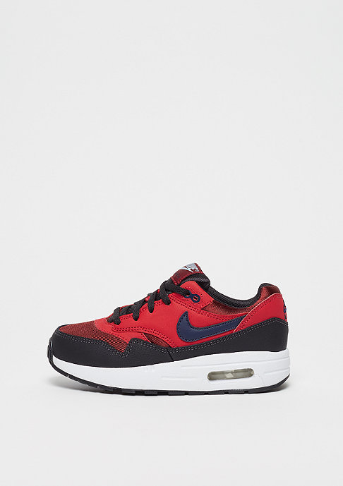 NIKE Air Max 1 (PS) rough red/midnight navy/university red