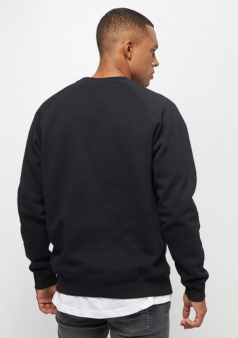 Carhartt WIP Chase Sweatshirt dark navy/gold