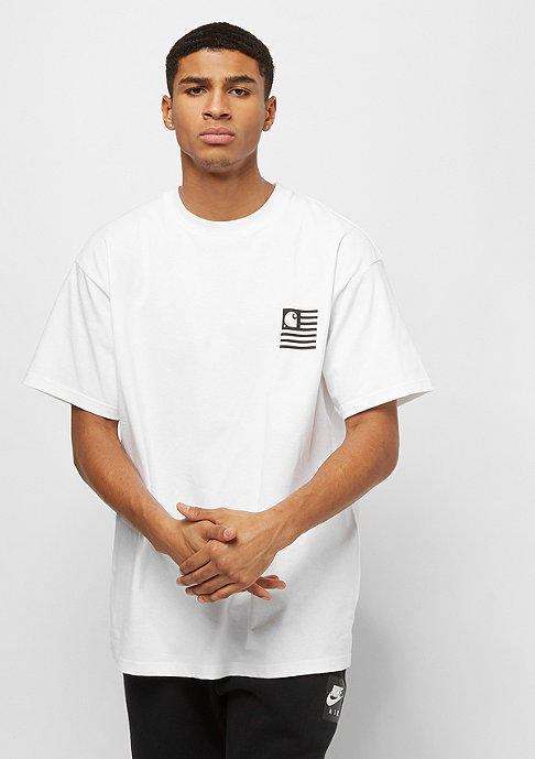 Carhartt WIP S/S State Patch white
