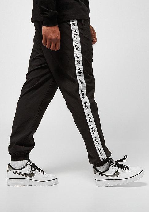 SNIPES Basic Logo Tape Trackpants black