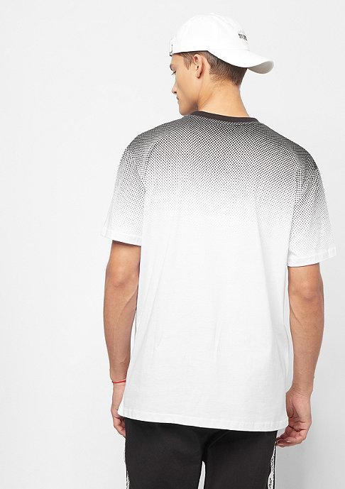 SNIPES Small Basic Logo Gradient Tee white/black