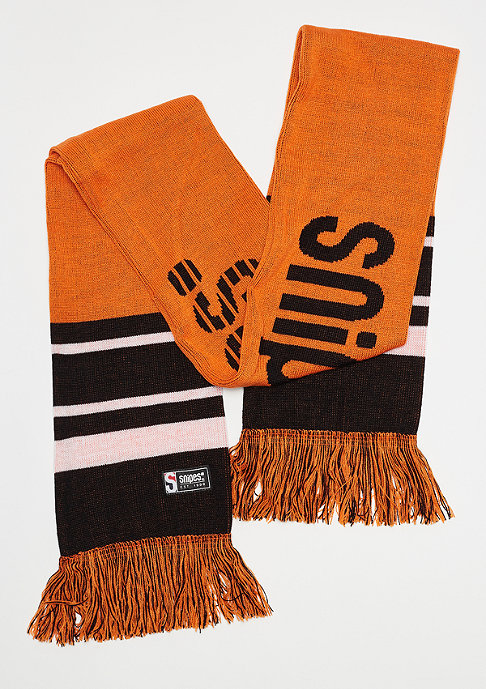 SNIPES Basic Logo Scarf orange/black