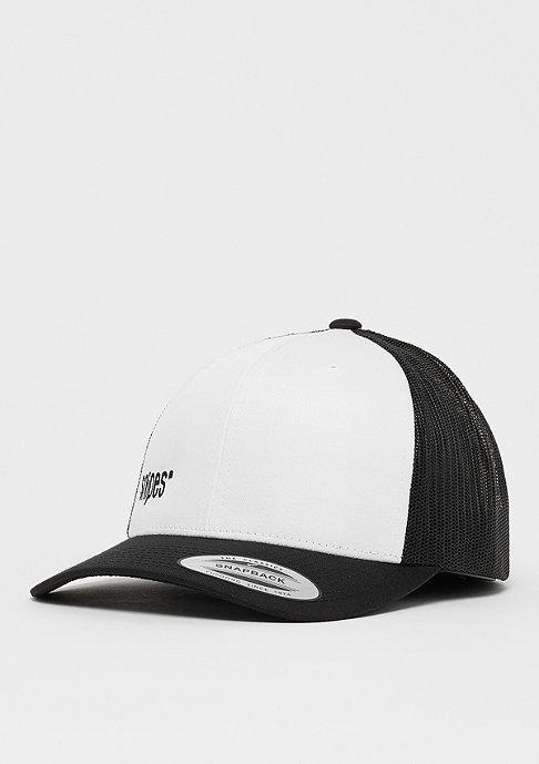 SNIPES Box Logo Trucker Cap black