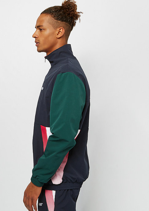 SNIPES Block Gradient Trackjacket blue/green/white/red/yellow