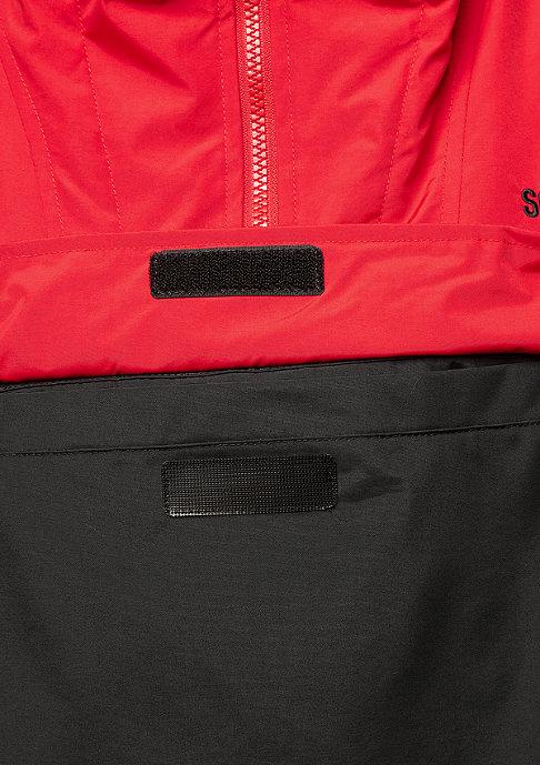SNIPES Block Windbreaker red/black