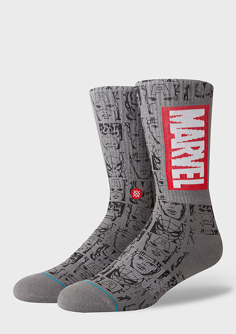Stance Foundation Marvel Icons grey