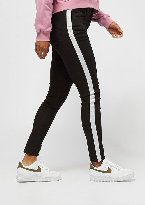 Sixth June DENIM WITH BANDS black/white