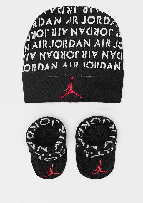 JORDAN Air Jordan AOP Hat and Bottie Combo black