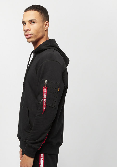 Alpha Industries RFB Inlay Hoody black