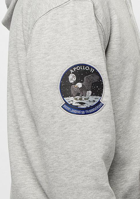 Alpha Industries Moon Landing Hoody grey heather