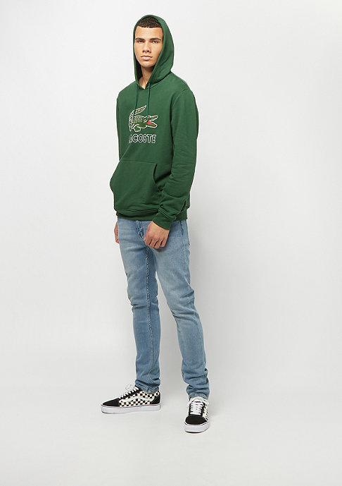 Lacoste Sweatshirt Hoody green