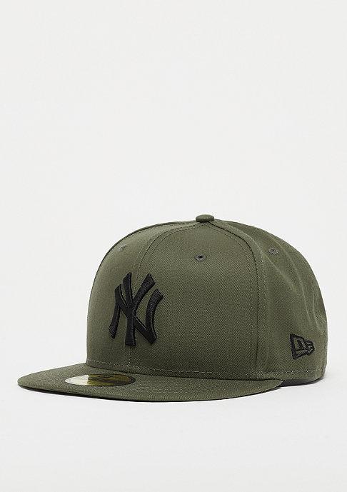 New Era 59Fifty MLB New York Yankees Essential new olive/black