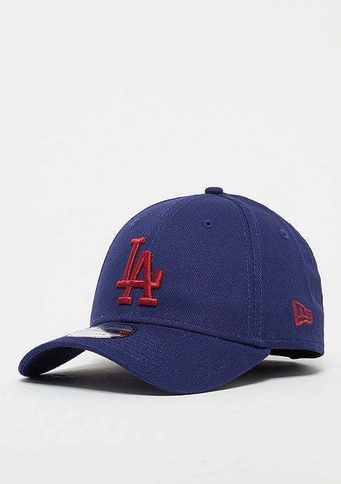 New Era 9Forty MLB Los Angeles Dodgers Essential dark royal/hot red