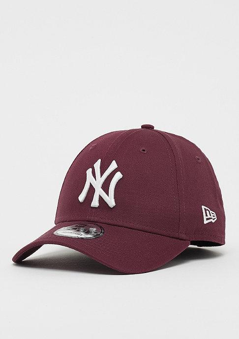 New Era 9Forty MLB New York Yankees Essential maroon