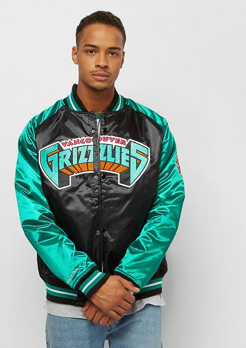 Mitchell & Ness NBA Tough Season Satin Vancouver Grizzlies black/teal