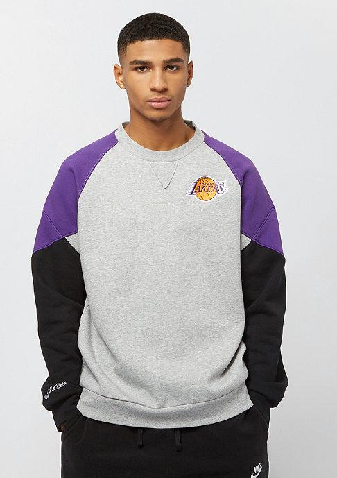Mitchell & Ness NBA Los Angeles Lakers Trading Block grey