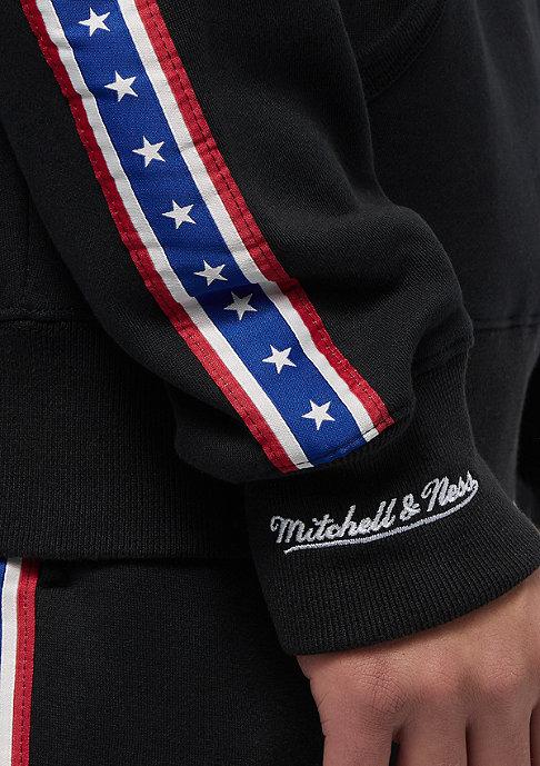 Mitchell & Ness Taped Fleece Philadelphia 76ers black