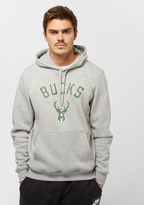 New Era NBA Milvaukee Bucks grey