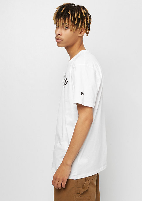 New Era NBA Team Logo Tee Brooklyn Nets white